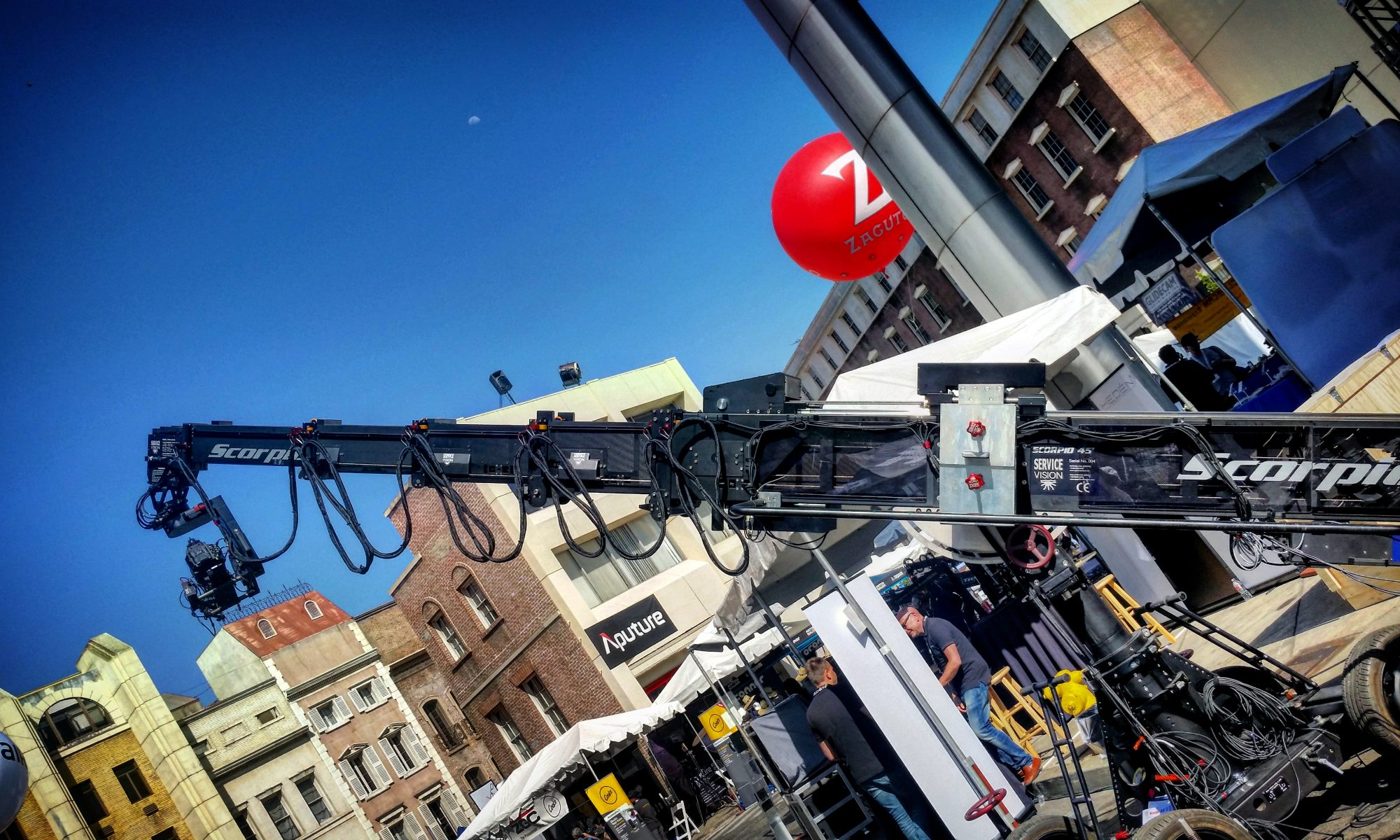 Scorpio Camera Crane at Cine Gear Expo 2017 at Paramount Pictures- by Socialbilitty